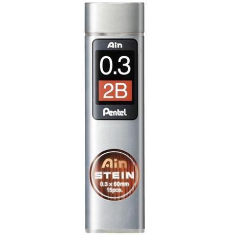 Pentel Ain Stein Leads 0.3mm 2B Image 1