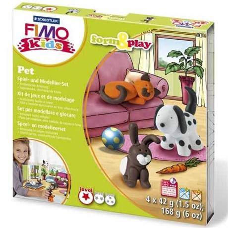 Fimo Kids Form And Play Pet Set Image 1