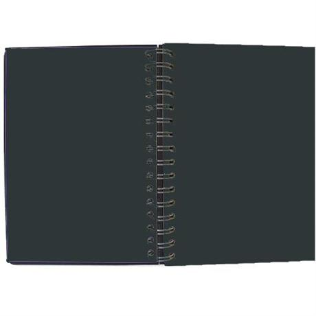 Seawhite Euro Sketchbooks With BLACK Paper & Black Pop Cover Image 1