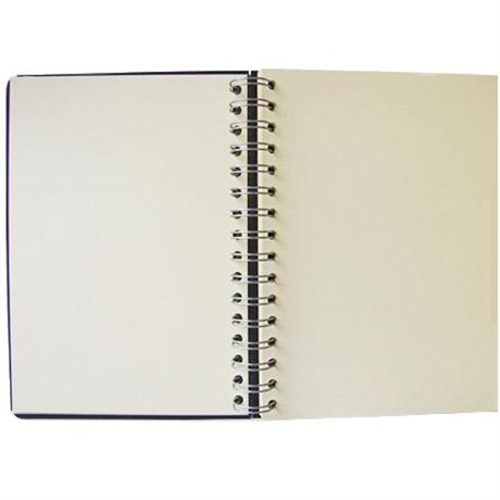 Seawhite Euro Sketchbooks With CREAM Paper & Black Pop Cover Image 1
