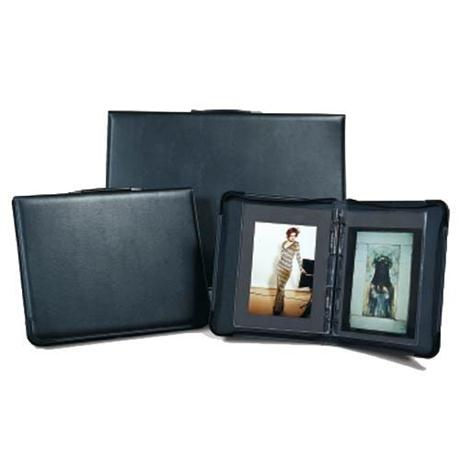 Tech-Style Padded Leather Look Portfolio Image 1