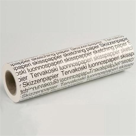 Tervakoski Roll Of Detail Paper 594mm x 100 metres Image 1