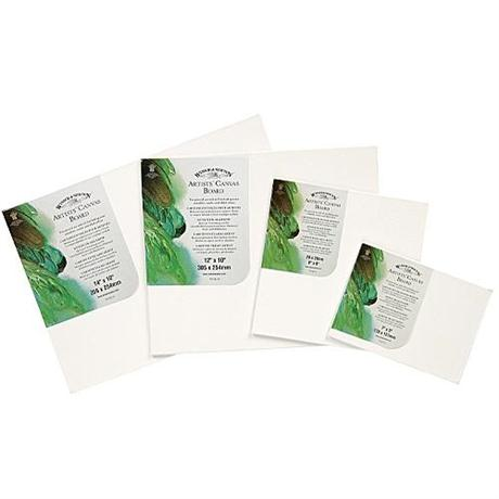 Winsor & Newton Artists' Quality Cotton Canvas Boards Image 1
