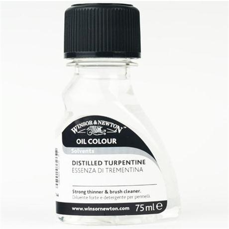 Winsor & Newton English Distilled Turpentine Image 1