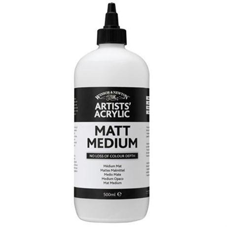 Winsor & Newton Artists' Acrylic Matt Medium Image 1