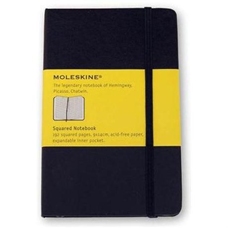 Moleskine Squared Pocket Journal Notebook Image 1