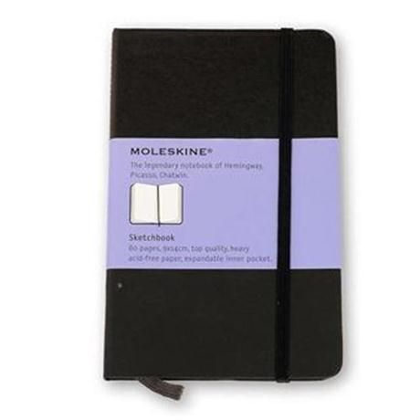 Moleskine Sketch Book Pocket Journal Notebook Image 1