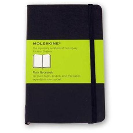 Moleskine Plain Large Journal Notebook Image 1