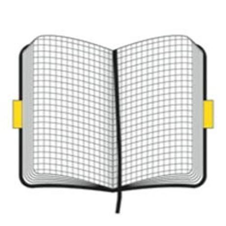 Moleskine Soft Pocket Squared Journal Notebook Image 1