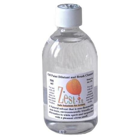 Zest It Solvent Free Oil Paint Dilutant and Brush Cleaner Image 1