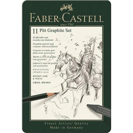 Faber Castell Pitt Graphite Set of 11 items Image 1