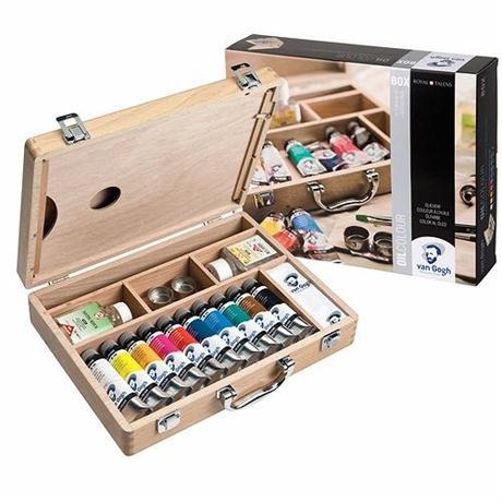 Van Gogh Oil Colour Basic Box Image 1