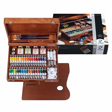 Van Gogh Oil Colour Superior Wooden Box Image 1