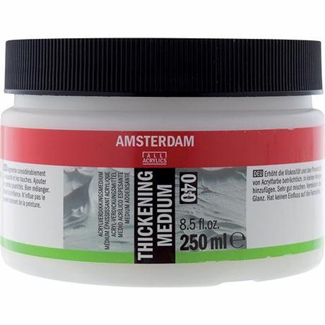 Amsterdam Acrylic Thickening Medium 250ml Image 1