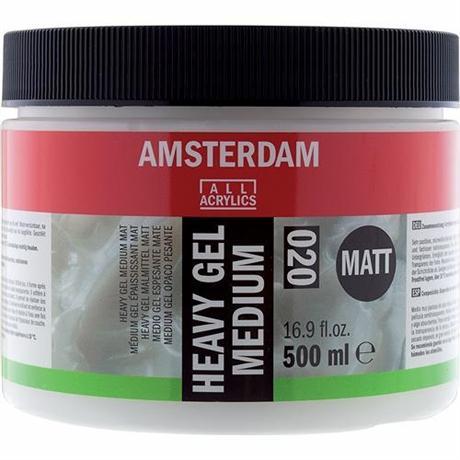 Amsterdam Heavy Gel Medium Matt 500ml Image 1