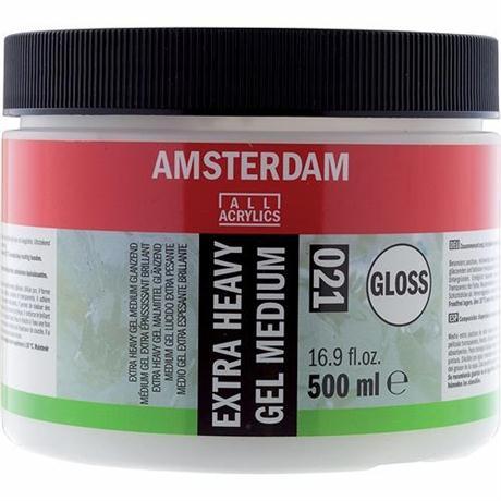 Amsterdam Extra Heavy Gel Medium Gloss 500ml Image 1