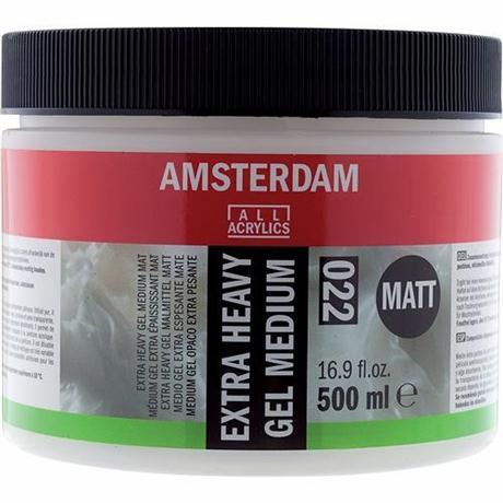 Amsterdam Extra Heavy Gel Medium Matt 500ml Image 1