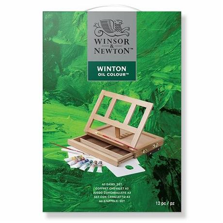 Winton Oil A3 Easel Set Image 1