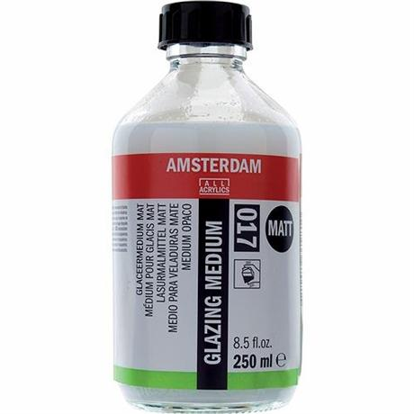 Amsterdam Acrylic Matt Glazing Medium Image 1