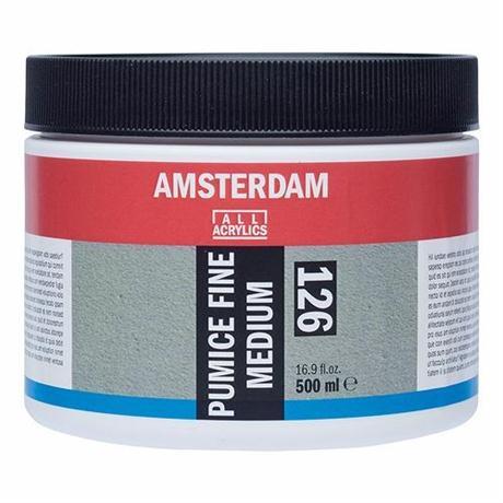 Amsterdam Acrylic Pumice Fine Medium Image 1