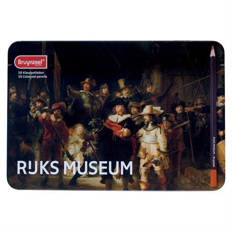 Bruynzeel Dutch Masters 50 Colour Pencils Set  Image 1