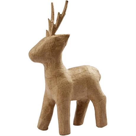 Papier Mache Standing Roe Deer Image 1