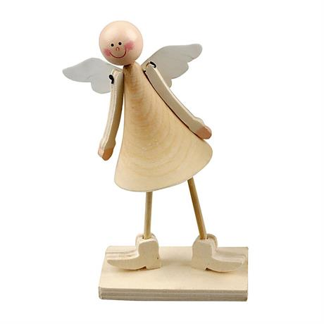 Wooden Cone Angel Image 1