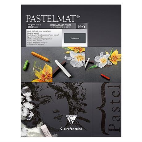 Clairefontaine Pastelmat Pad No.6 Anthracite Black Image 1