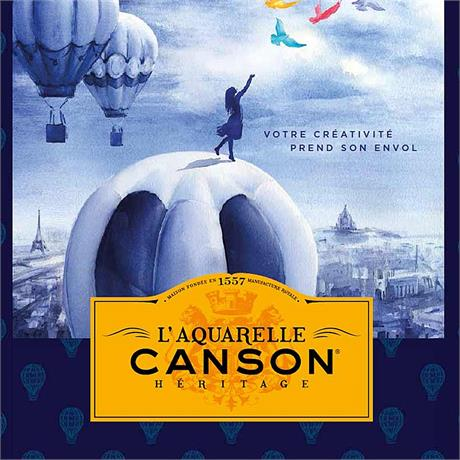 Canson Heritage Watercolour Paper Sheets 56 x 76cm Image 1