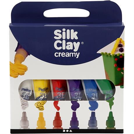 Silk Clay Creamy Set - Basic Colours