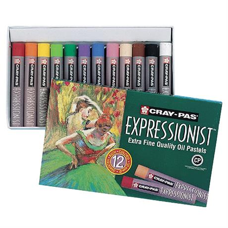 Cray-Pas Expressionist Oil Pastels Set Of 12 Image 1