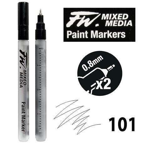 FW Mixed Media Paint Marker 0.8mm Technical Set 101 Image 1