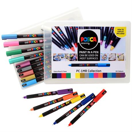 POSCA PC-1MR Collection Pack Of 16 Pens Image 1