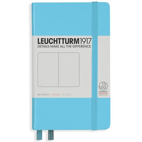 Leuchtturm Pocket Plain Notebooks Image 1