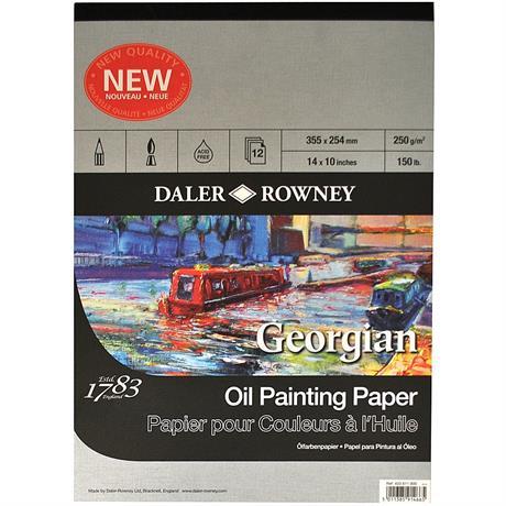 Daler Rowney Georgian Oil Pads Image 1