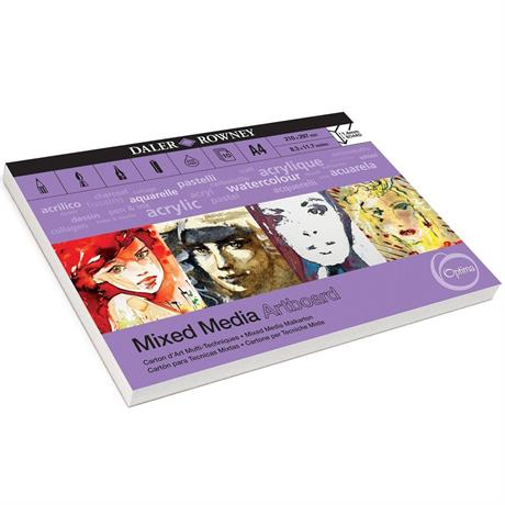 Daler Rowney Optima Mixed Media Artboard Pads Image 1