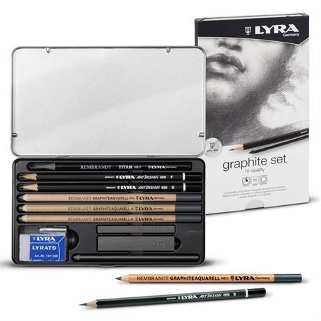 Lyra Rembrandt Graphite Set Image 1