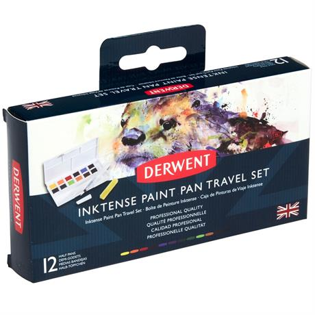 Derwent Inktense Paint Pan Travel Set Image 1
