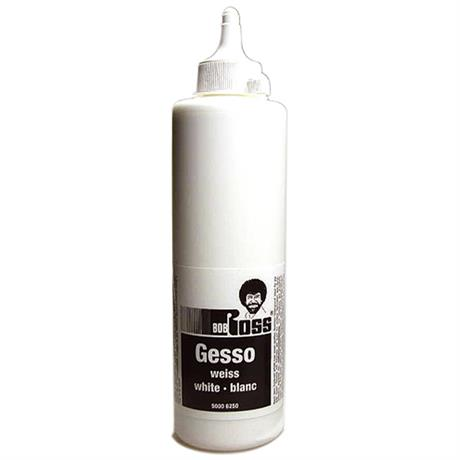 Bob Ross White Gesso 500ml Image 1