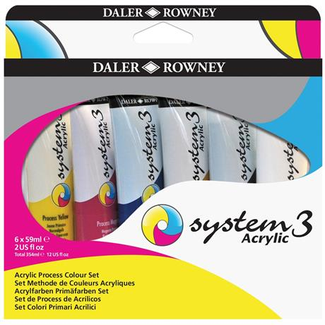System 3 Process Set 6 x 59ml Image 1