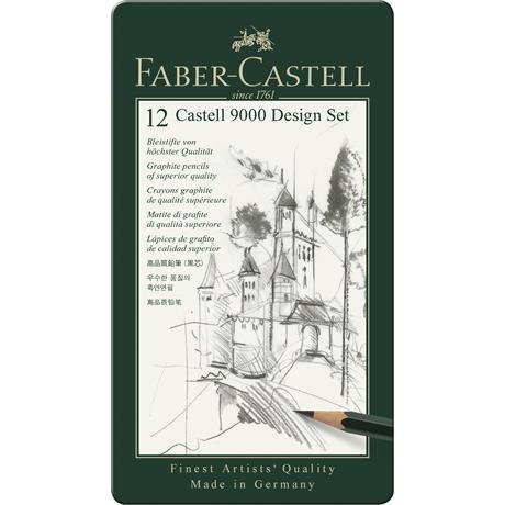 Castell 9000 Design Set of Pencils Image 1