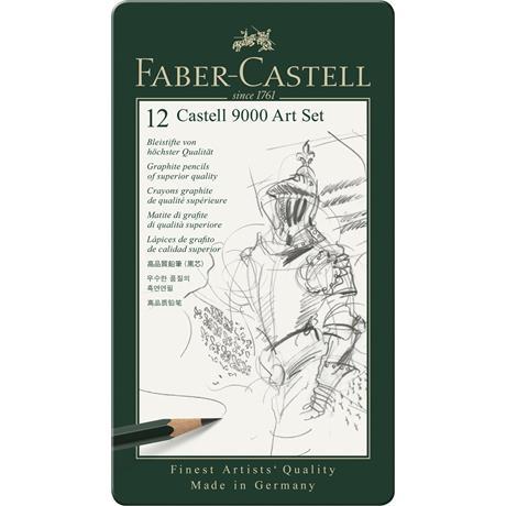 Castell 9000 Art Set of Pencils Image 1