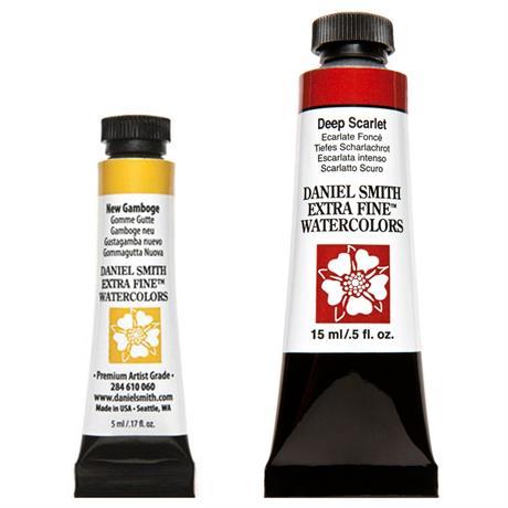 Daniel Smith Extra Fine Watercolour Tubes 5ml & 15ml Image 1