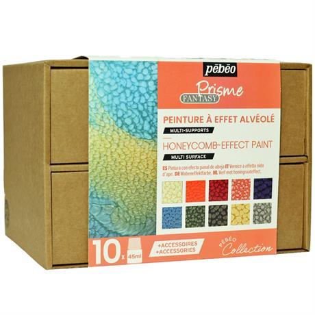 Pebeo Fantasy Prisme Collection Set 10 x 45ml Image 1