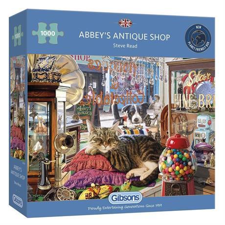 Abbey's Antique Shop Jigsaw 1000pc Image 1