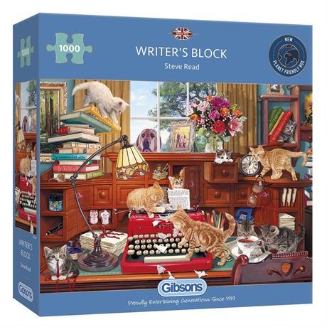 Writer's Block Jigsaw 1000pc Image 1