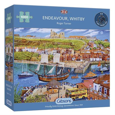Endeavour Whitby Jigsaw 1000pc Image 1