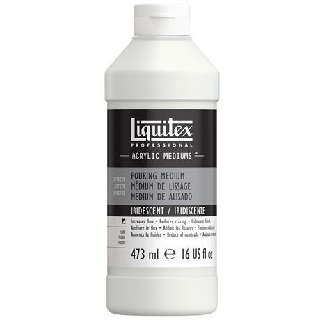 Liquitex Iridescent Pouring Medium 473ml Image 1