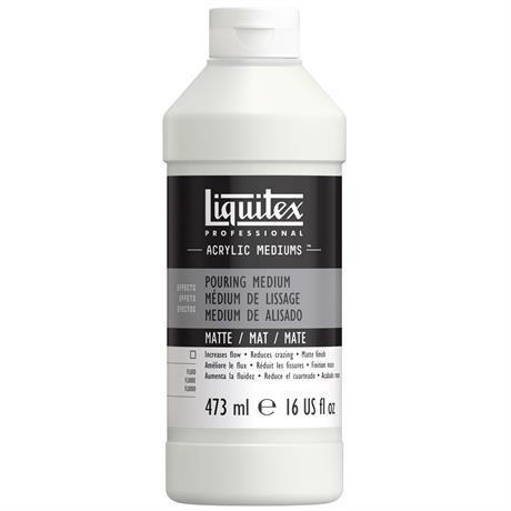 Liquitex Matte Pouring Medium 473ml Image 1