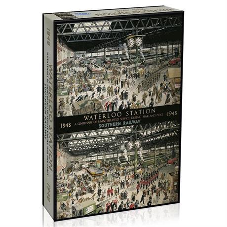 Waterloo Station Jigsaw 1000pc Image 1